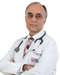Dr. V. P. Bhalla, Sr. Consultant & Director  -Institute of Digestive & Liver Diseases